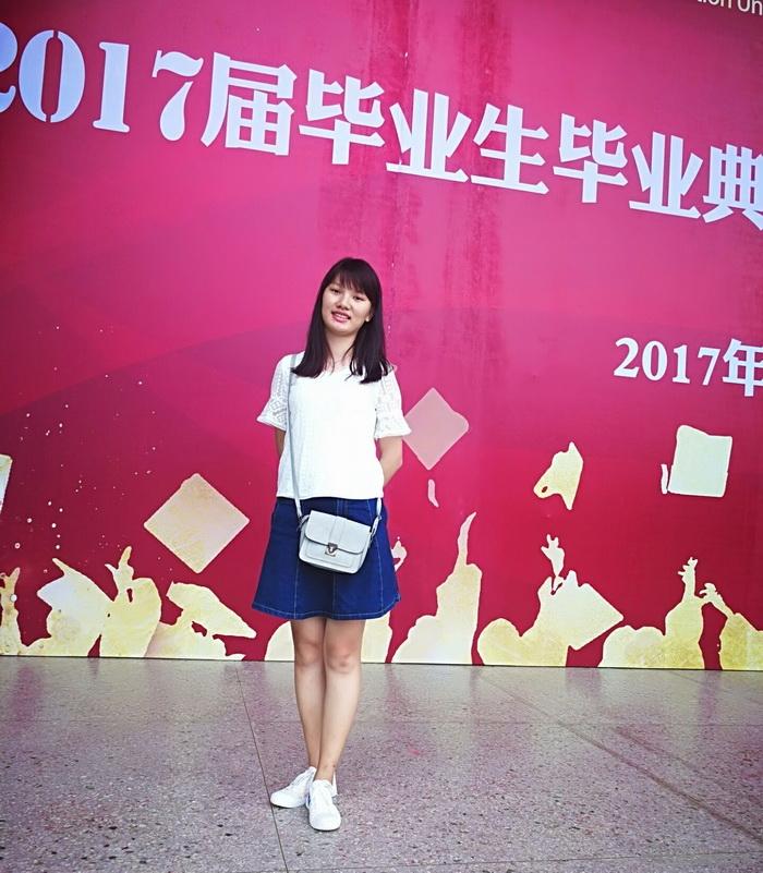 黄艳  教育系小学教育专业2013级毕业生,考上广西师范学院硕士研究生