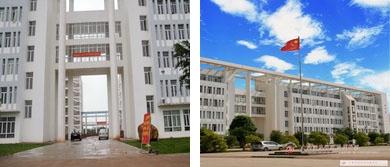 2011年以前的教学楼-如今的教学楼