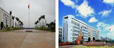 2010年以前的校园环境-如今的校园环境