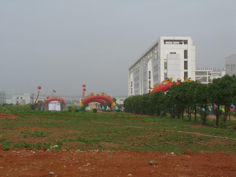 2011年建设中的校园